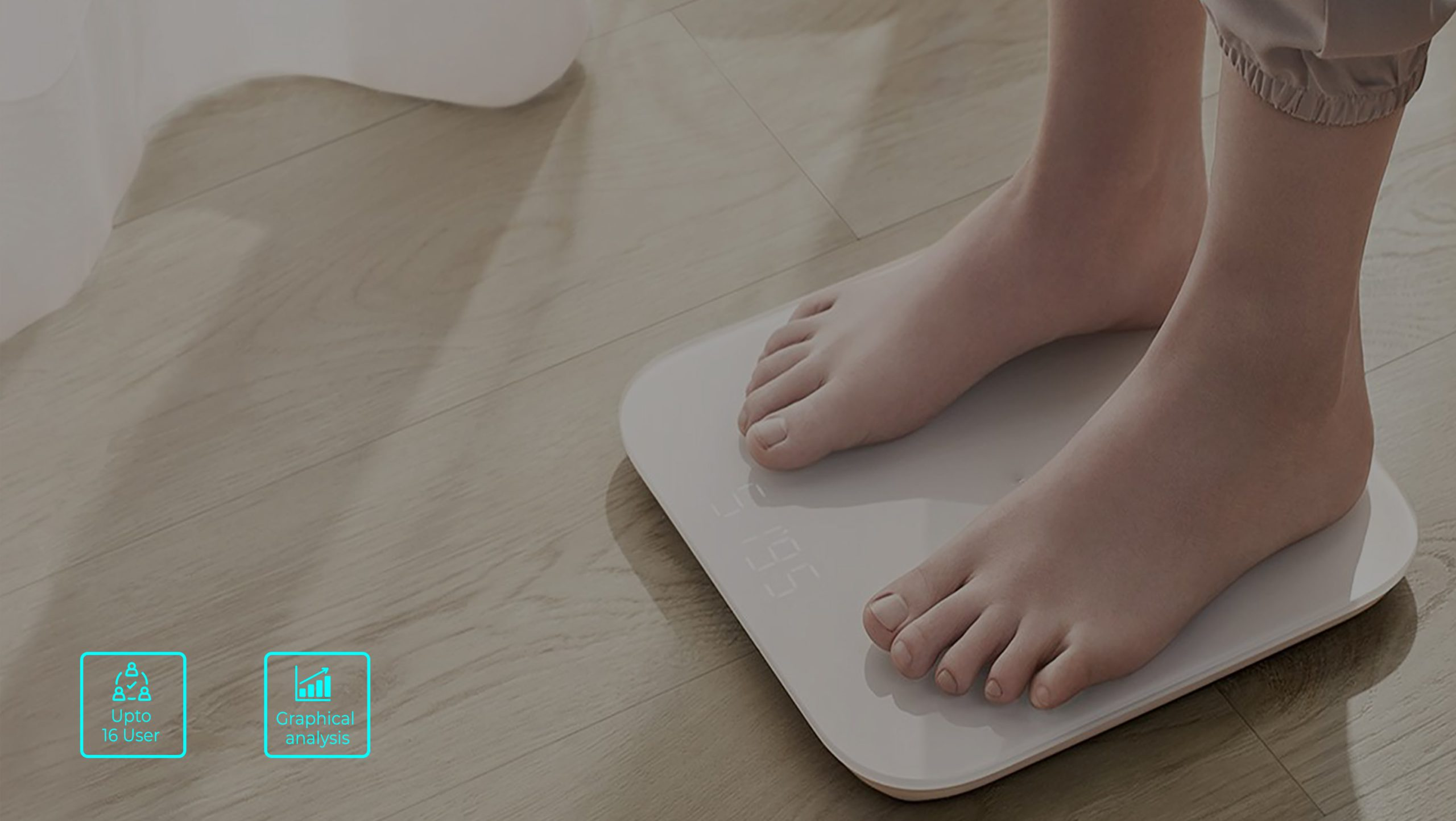 Smart weighing scale