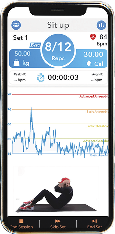 Exercise tracking